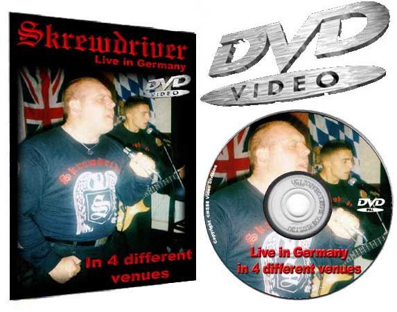 Skrewdriver Live in Germany in 4 different venues